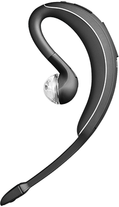 8efb187aeee JABRA WAVE. A Bluetooth™ headset that enables incredibly clear calls with  its 3-layer wind noise reduction technology